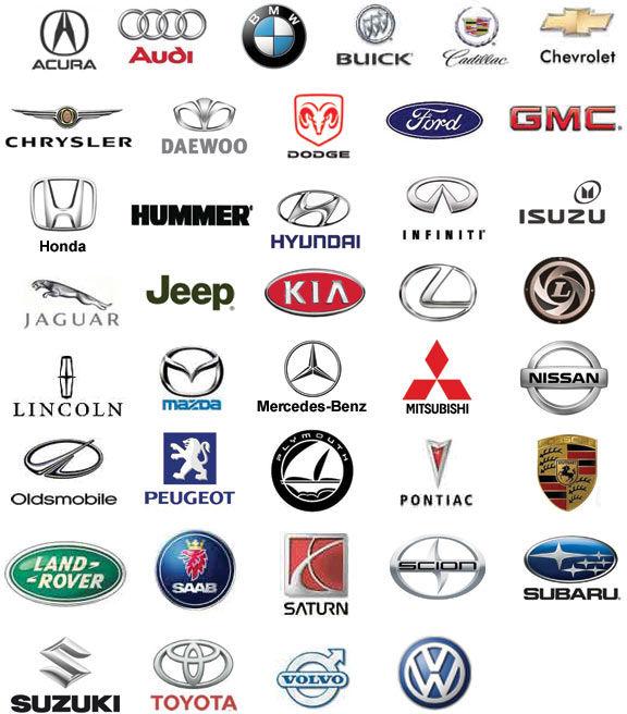 Auto Brands Logos